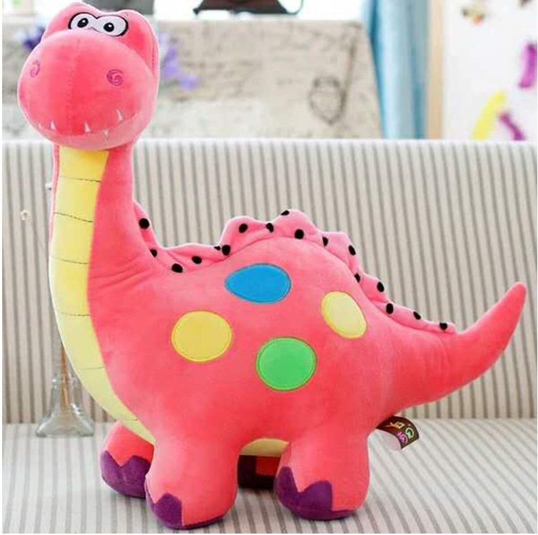 Милый мультфильм динозавра Плюшевые игрушки, мягкие плюшевые куклы Детские игры большая кукла подарок на день рождения 55 см