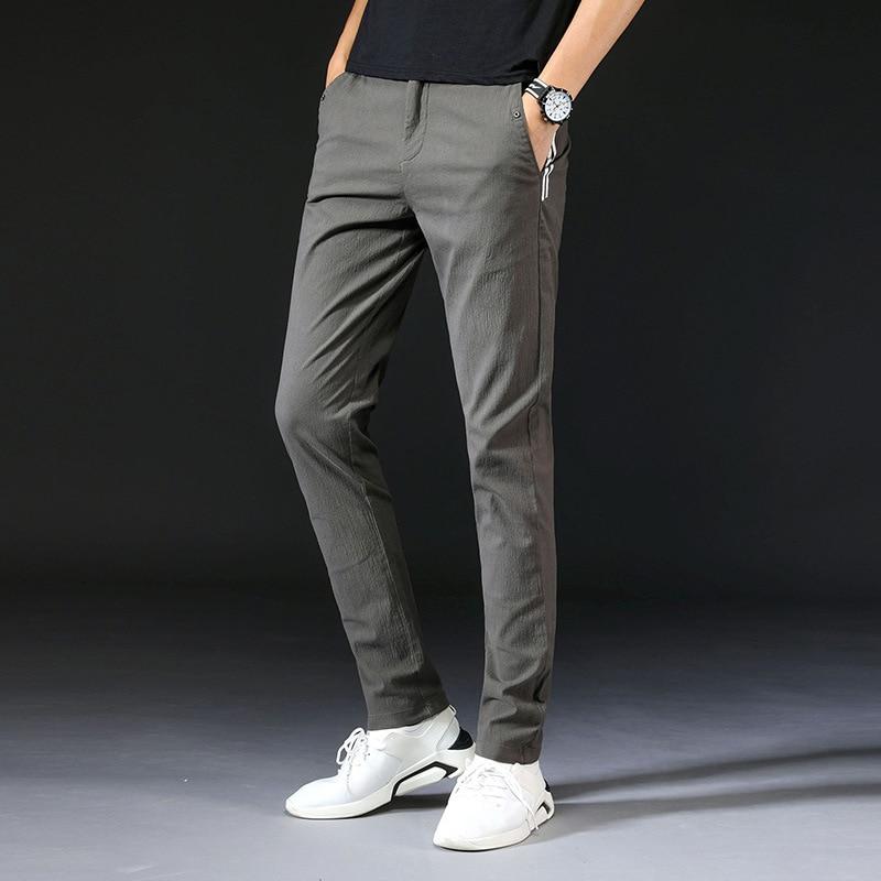 Sportswear Jogger Pant Men Solid Color Casual Trousers Slim Fit Sweat Pants for Men 2018 Mens Pants Bottoms Black Green S136