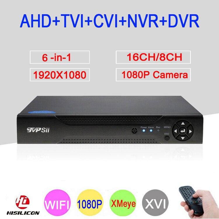 2MP Surveillance Camera Hi3531A 1080P 16CH/8CH XMeye 6 in 1 Coaxial Hybrid WIFI Onvif NVR TVI AHD CCTV DVR Free Shipping2MP Surveillance Camera Hi3531A 1080P 16CH/8CH XMeye 6 in 1 Coaxial Hybrid WIFI Onvif NVR TVI AHD CCTV DVR Free Shipping