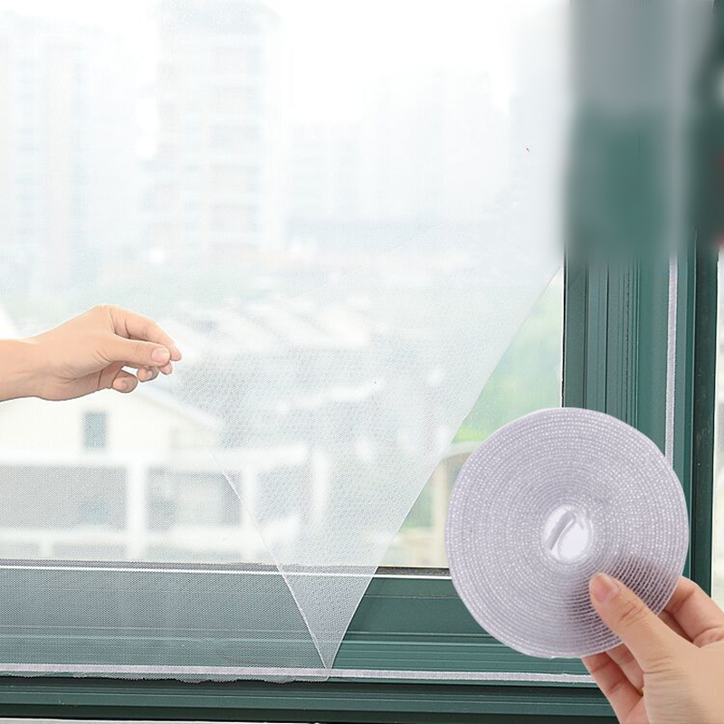 6 stücke Insekt Tür Fenster Net Netting Mesh Screen Reparatur Klebebänder
