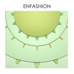 Image 2 - Enfashion Weizen Halsband Halskette Frauen Aussage Pinienkernen Kette Halsketten Gold Farbe Boho Urlaub Schmuck Collier Femme PM193002