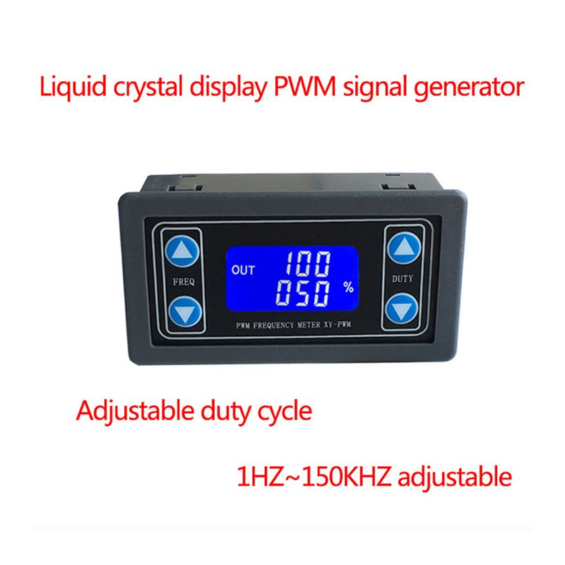 1Hz 150KHz PWM Pulse Frequency Duty Cycle Adjustable Module Signal Generator in Signal Generators from Tools