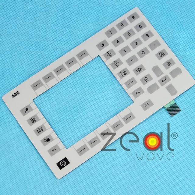 Robot Motherboard Teaching Iimplement Membrane Keypad Operation Panel Button Mask For ABB 3HNE00313-1