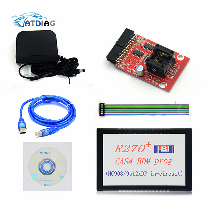 2019 Newly 1.20 R270+ V1.20 Auto R270 CAS4 BDM Programmer R270+ CAS4 BDM R270 PLUS-in Electrical Testers & Test Leads from Automobiles & Motorcycles