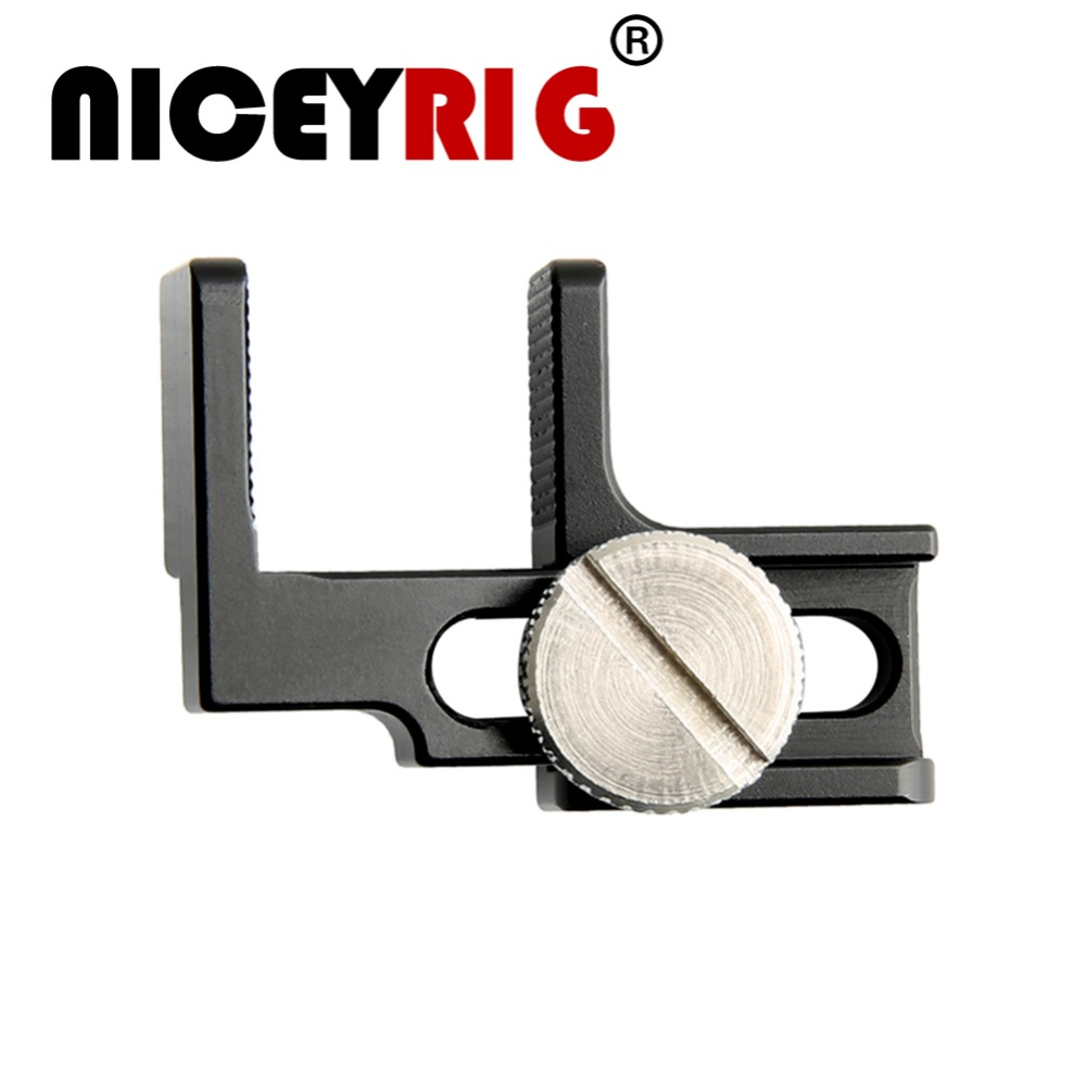 NICEYRIG HDMI Cable Clamp Camera Case Rig HDMI Lock Clamp 1/4
