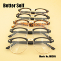 M1305 PC Optical Eyewear Cheap Glasses Full Rim Spectacles Vogue Tortoiseshell Frames