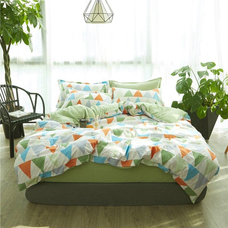 New Origami Cranes Bedding Set Cotton Bed Sheet Cozy Duvet Cover Sets Bedspread Queen/Full/Twin Size Jogo de Cama