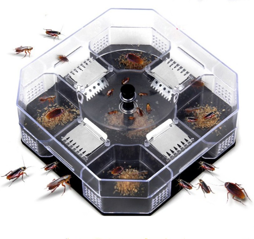 1PC Non-Toxic Cockroach Trap Roach Killer Catcher Physical Capture  Reusable Safety For Kids And Pets Eco-Friendly Control Bait