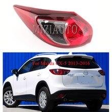 MIZIAUTO 1PCS  Rear Tail Light Assembly for Mazda CX-5 2013-2016 Auto tail light turn signal bumper brake lamp