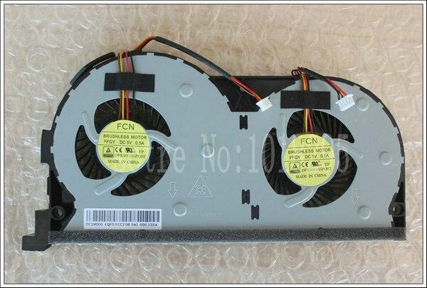 Новые Оригинальные вентилятор ПРОЦЕССОРА для Lenovo Y50 Y50-70AS Y50-70AM Y50-70A Y50-70 Y50-70AS-ISE ноутбук процессора вентилятор кулера EG60070S1-C060-S99