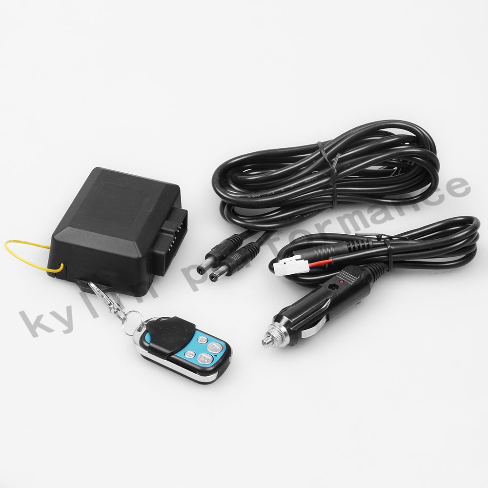 Kylin Universal New Wireless Remote Control 12ft Wiring Harness Kit For Exhaust Muffler Electric Valve Cutout System Tp024 In Mufflers From Automobiles