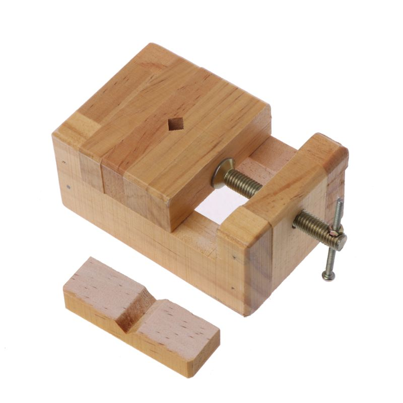 Wood Flat Vise Mini Clamp on Bench Vise Flat Tongs Woodworking Carving Engraving|Vise| |  - title=