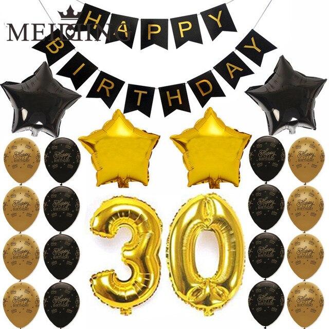 Meidding Joyeux Anniversaire Theme Adulte 1 10 20 30 40 50 60 70 80