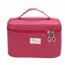 Multi Functional Women Women Make Up Bags Organizer Cosmetic Bag Fashion Lady Cosmetic Case Travel Toiletry Pouch Handbag