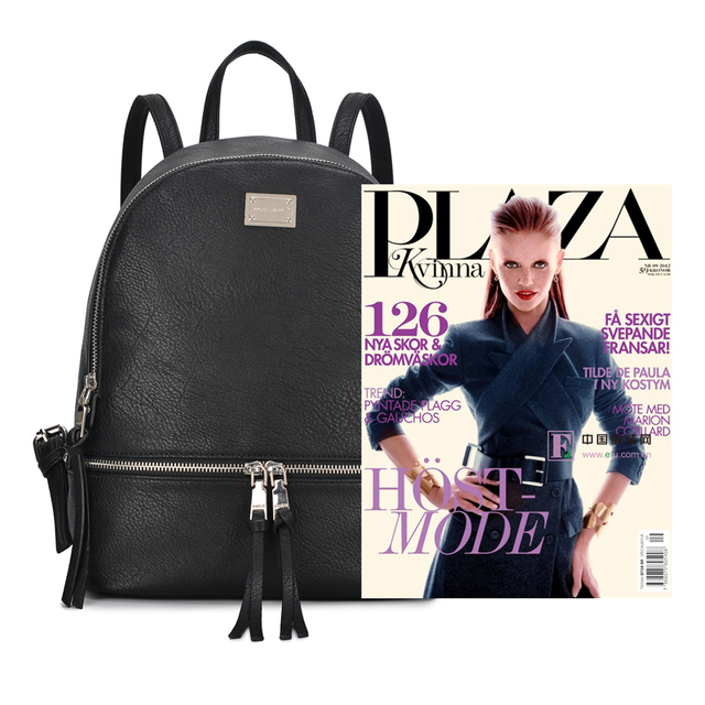 AMELIE GALANTI Fashion Women Backpack High Quality PU Leather Backpacks for Teenage Girls Female School Shoulder Bag Backpacks