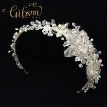 Free Shipping Rhinestone Flowers Bridal Headband Wedding CROWN Tiara