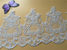 9Yards Vintage Lace Trim Bridal Wedding Ribbon Trimmings For Embroidered Tape Sewing Craft DIY Decor Y23