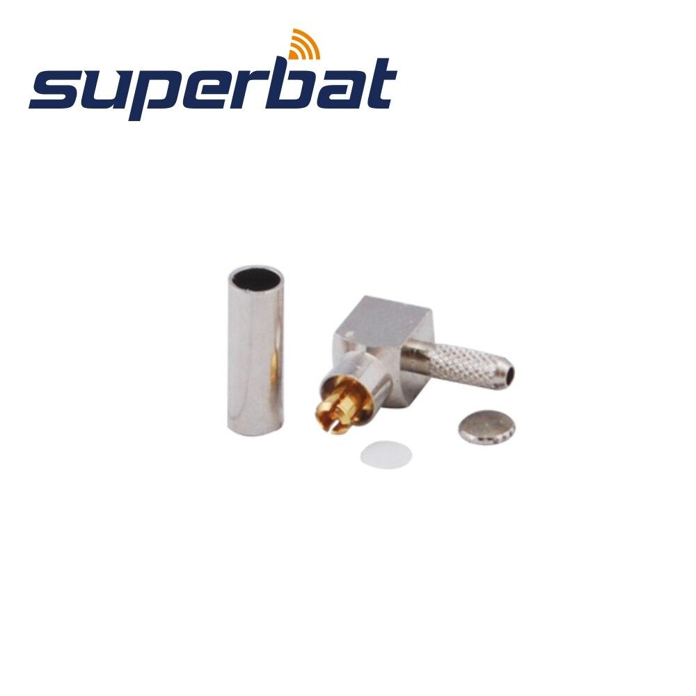 Superbat MC-Card Crimp Plug Right Angle for Option Wireless Card