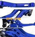 10 cores cnc moto 3d curta alavanca para honda cbf 600 SA hornet Motocicleta 3D Ajustável Alavancas de Freio de Embreagem CNC Alavanca Curta