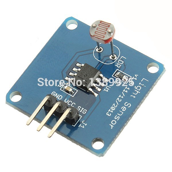 High Quality 10PCS Lot Light Intensity Sensor Module 5528 Photo Resistor For AVR For Arduino UNO