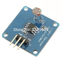 High Quality 10PCS/Lot Light Intensity Sensor Module 5528 Photo Resistor For AVR For Arduino UNO R3 2.7V-5.5V Power