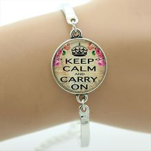 """""""Keep calm and love cats"""" + other cat-related designs bracelets"""