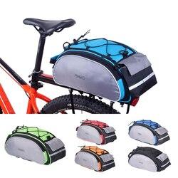 ROSWHEEL велосипедный 13л сумка для переноски велосипедная стойка Паньер корзина для багажника на заднее сиденье полка сумка для велосипедного ...