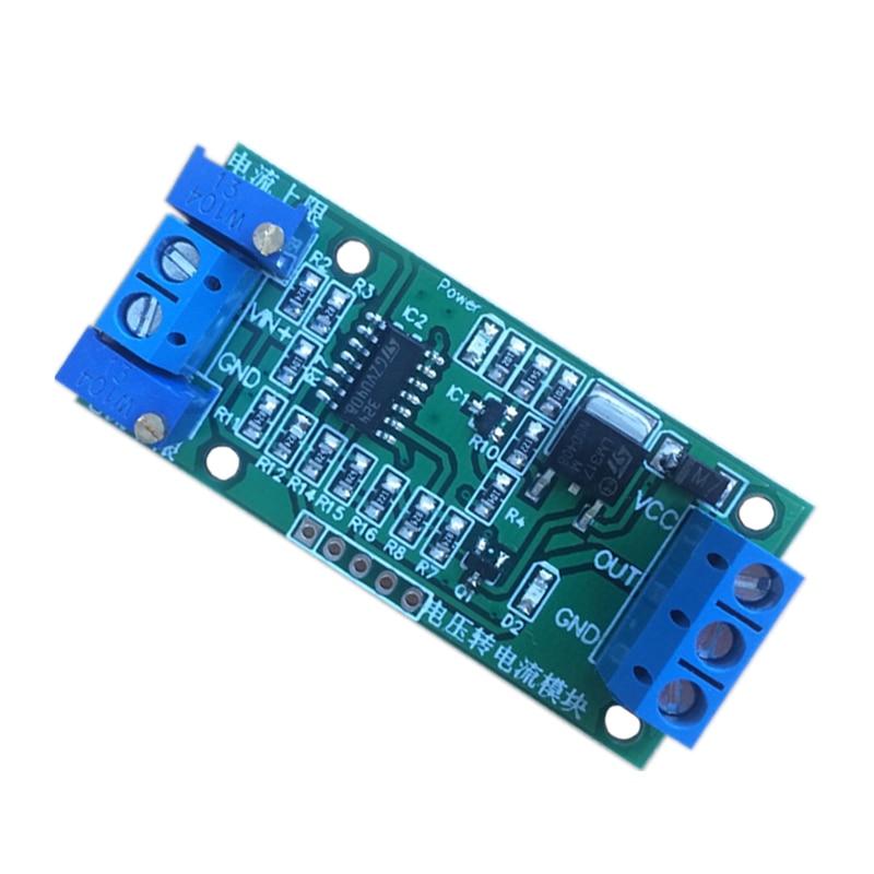 0-2.5 V/0-3.3 V/0-5 V/0-10 V/0-15 V à 4-20ma DC12V-24V tension de Conversion linéaire au Module émetteur de Signal réglable en courant
