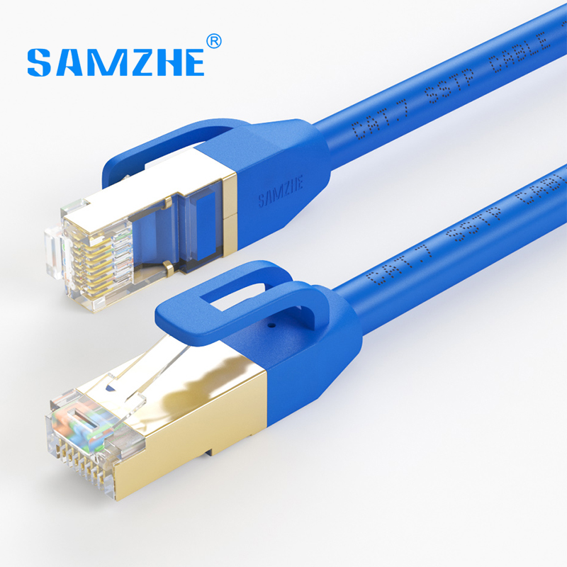 buy samzhe cat7 ftp ethernet patch cable rj45 computer ps2 ps3 xbox networking. Black Bedroom Furniture Sets. Home Design Ideas