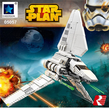 Star Wars Imperial Shuttle Tydirium DIY Building Model Kits Boys Gift Compatible Legoes 75094