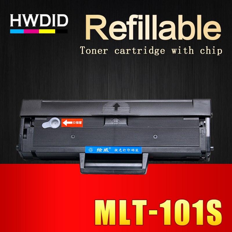 HWDID 1 Pcs MLT-D101S mlt d101s D101 101 cartouche de toner EXP puce pour Samsung ML 2160 2165 2166 W 3405FW SCX 3400 3401 3405F 3407