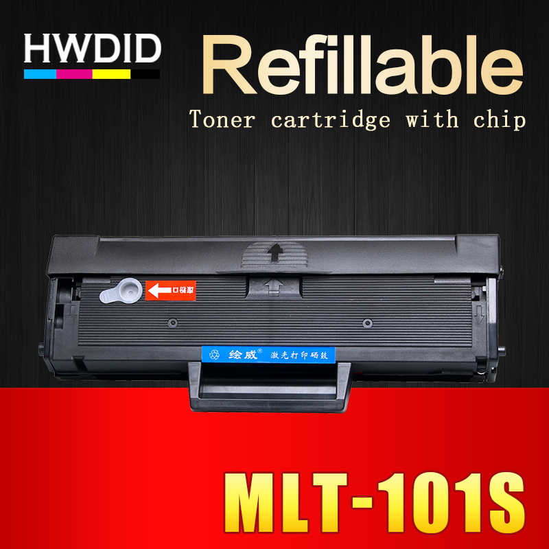 HWDID 1Pcs MLT-D101S mlt d101s D101 101 toner cartridge EXP chip for Samsung ML 2160 2165 2166W SCX 3400 3401 3405F 3405FW 3407 compatible 101s toner cartridge for samsung mlt d101s series scx 3400f scx 3400fw scx 3405f scx 3405fw sf 761 toner grade a