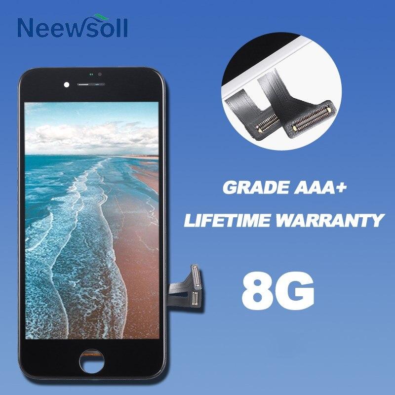 10 個グレード AAA ディスプレイ Apple の Iphone 8 液晶タッチスクリーンデジタイザ国会 Dhl 送料無料  グループ上の 携帯電話 & 電気通信 からの 携帯電話用液晶ディスプレイ の中 1