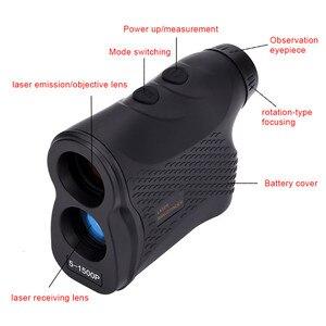 Image 2 - Telémetro láser de 1500M, telémetro Digital para caza, Golf, telémetro láser, medidor de distancia, medidor, equipo profesional