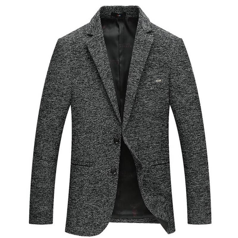2018 Новый белье Пиджаки для женщин Для мужчин Однобортный два Пуговицы Slim Fit Blazer Для мужчин темно-серый Костюмы Куртки смокинг костюм для Homme