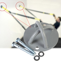 Wall Ceiling X Mount Anchor Yoga Hammock Fixed Buckle Suspension Hook Weight Lifting Boxing Bracket Pole