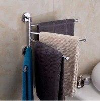 swivel brass towel holder, towel bar