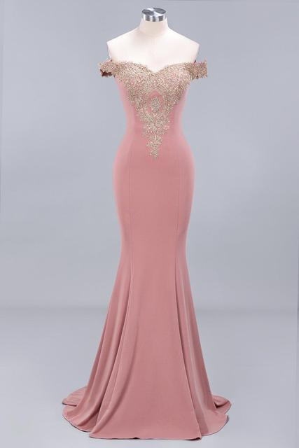 New Arrival Burgundy Lace Mermaid Prom Dresses Long Sexy Open Back Cap Sleeve Evening Party Dresses Vestido de Festa 2