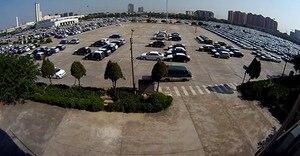 Image 2 - 1.7 millimetri Super wide Angle Panorama CCTV AHD Fotocamera 5MP 4MP 3MP 1080P SONYIMX326 Fisheye Lens 3D ball effetto di Sicurezza a raggi infrarossi Video