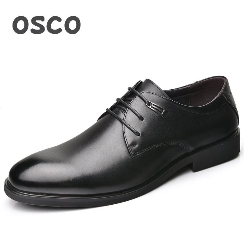 Outono Vestido Genuíno Primavera Sapatos Osco Ocasional Homens Derby Toe Tendência Couro Oxfords Negócios Apontou 810004bl De Respirável Masculina gFxUqw