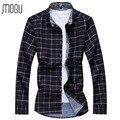 shirt shirts men shirt solid color Asian size M-7XL long sleeve A056-563P35