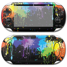 Manufactureing jogos adesivo de vinil de Boa Qualidade Para ForSony PSP vita 1000 adesivo de pele # TN-PSVITA1000-0456