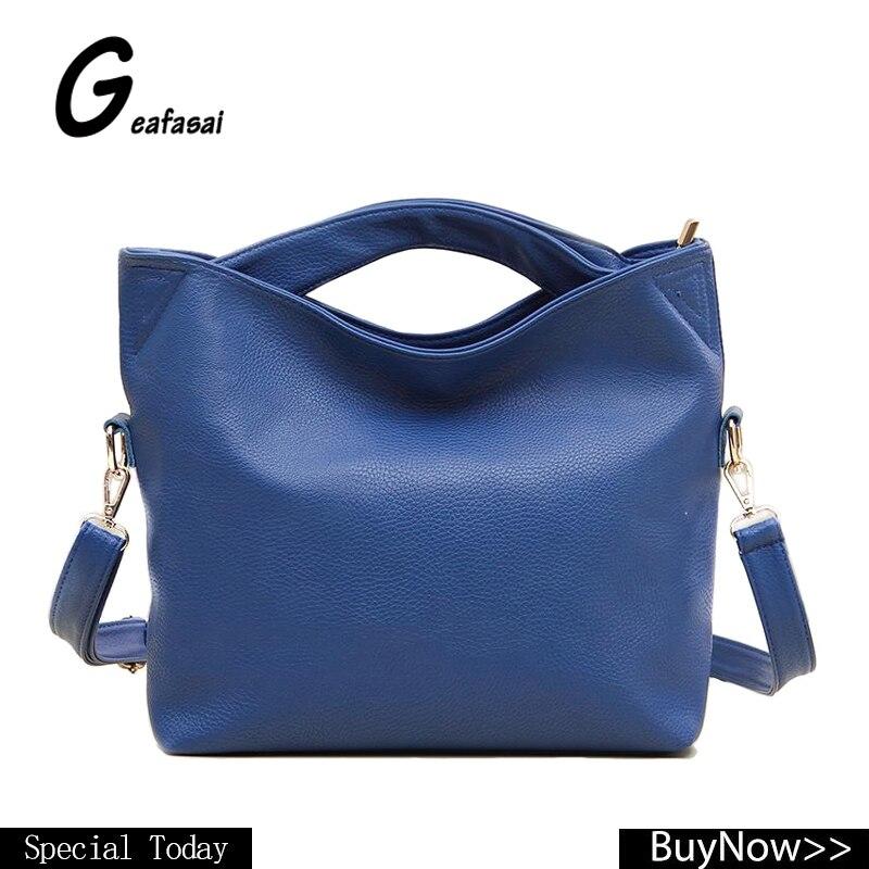 97d70025f187 blue black orange ladies leather small hobos totes crossbody messengers  shoulder bags handbag for female feminina women lady