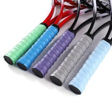 PU Dry Tennis Racket Grip Anti-skid Sweat Absorbed Wraps Taps Badminton Grips Over grip Sports Sweatband(China)