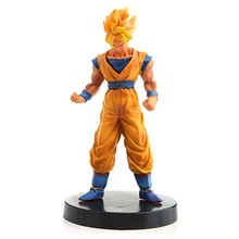 Anime Dragon Ball PVC Figures 4pcs Solid Bick Goku Flisa Model Toys Gift