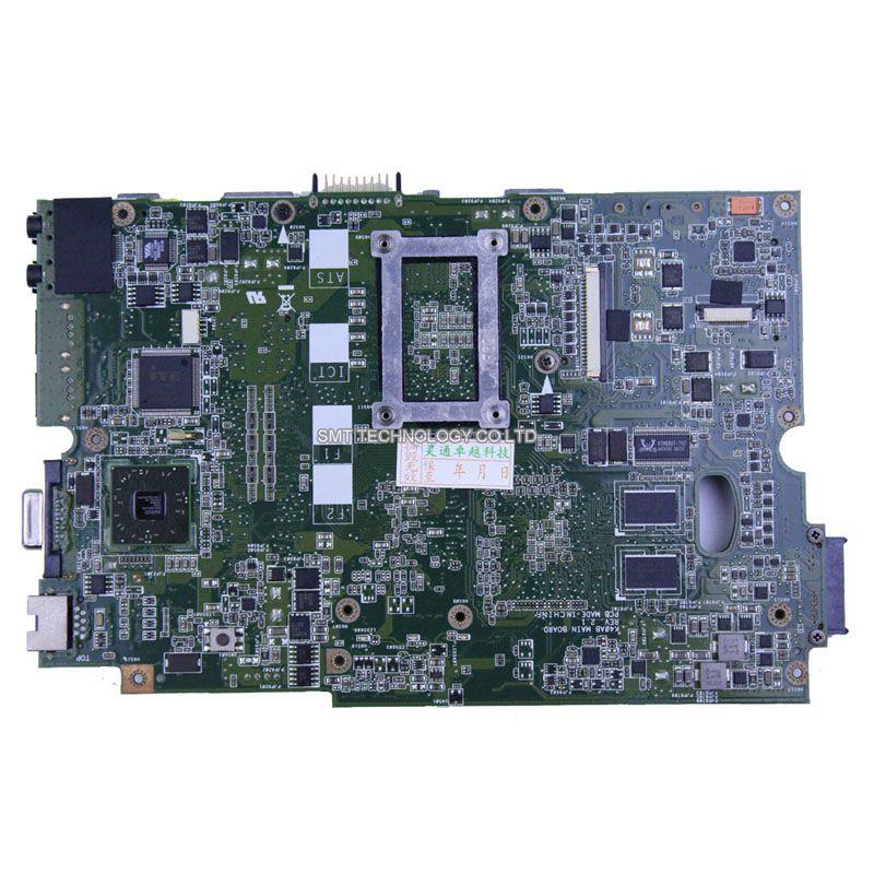 For ASUS K40AF K40AD X8AAF laptop motherboard K40AB REV 2.1 2009 cpu 100% Original tested good !