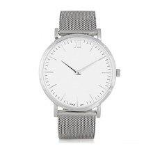 2017 hot novos negócios casuais homens das senhoras da marca do leão casal relógio de aço inoxidável pulseira de couro simples relógio de quartzo