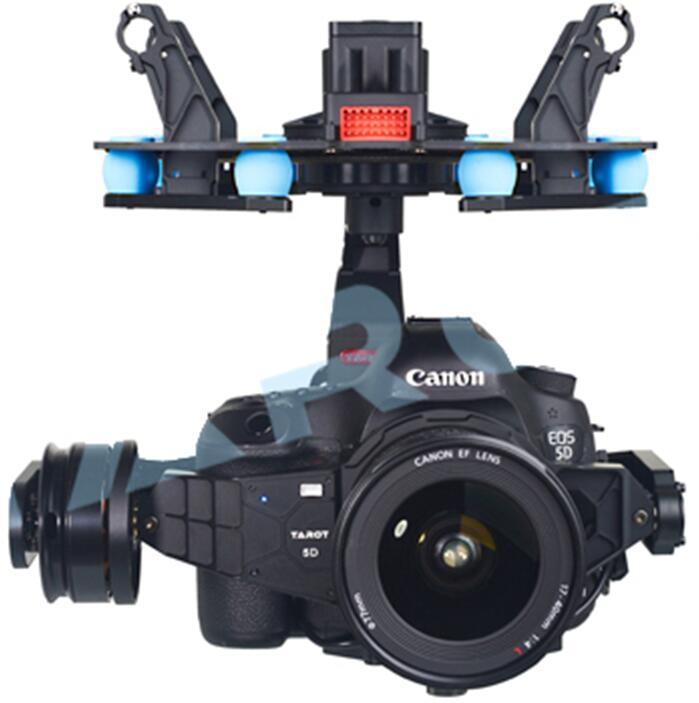 Tarot T-2D para GoPro 3 4 cardán sin escobillas 2-axis W//ZYX22 V2 FPV Foto aérea