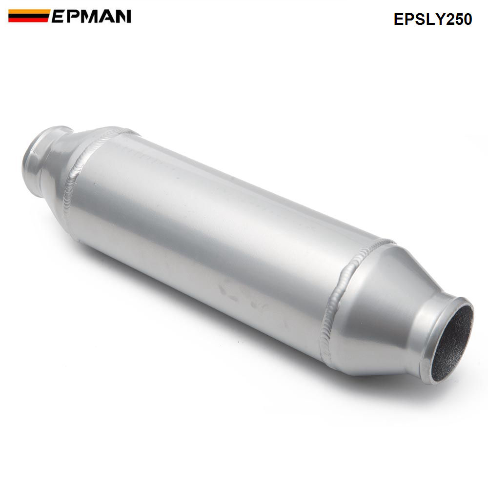 Epman Barrel Style Cooler Liquid to Air Intercooler 4x10 ID/OD 2.5 For Supercharger Engine EPSLY250 epman intercooler for toyota starlet ep82 91 ic 600 263 70mm od 63mm ep int0015