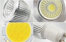 Gu10 Led Dimmable Led Spotlight Bulb Light 15W 10W 7W Gu10 Led Cob Spot Light Lamp Gu10 Led Bulb AC85-265v Lampada